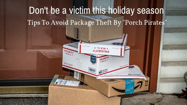 6 Ways To Avoid Holiday Package Theft