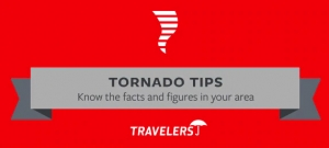 Infographic for tornado safety